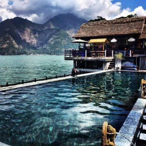 Bali - Source eau chaude naturelle