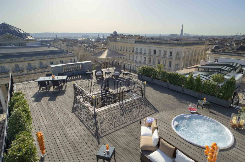 interContinental Bordeaux - Le Grand Hôtel - Terrasse suite royale
