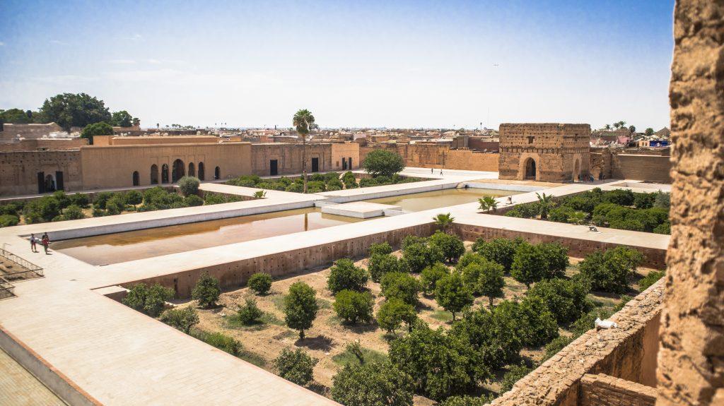 Maroc - Marrakech - Palais Badii