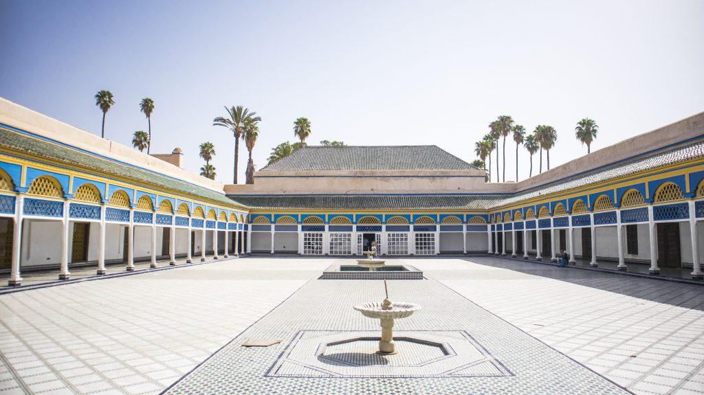 Maroc - Marrakech - Palais Bahia