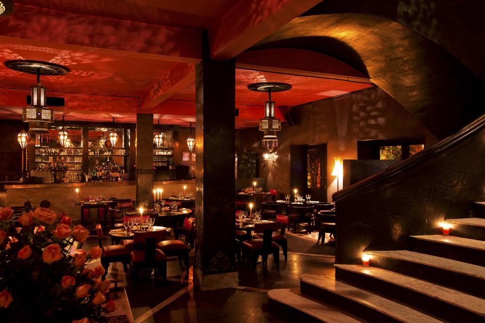 Maroc - Marrakech - Restaurant - Le comptoir
