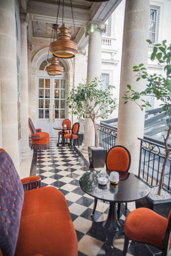 interContinental Bordeaux Le Grand Hotel - Terrasse du Pressoir d'Argent de Gordon Ramsay