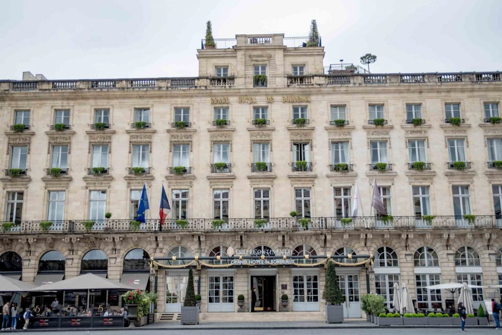 InterContinental Bordeaux Le Grand Hôtel - Devanture