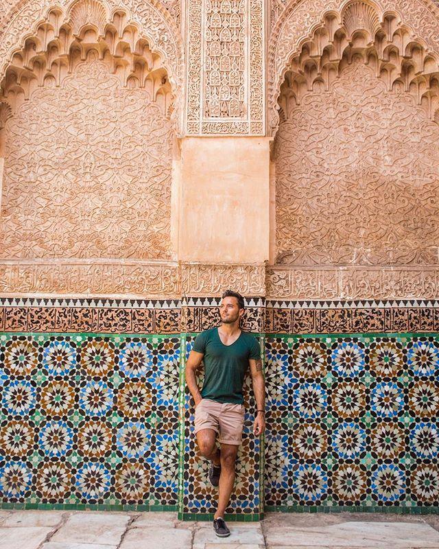 Maroc - Marrakech - Médersa Ben Youssef