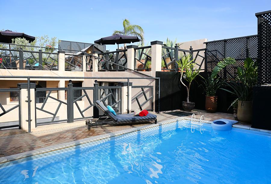 Riad Ba Sidi Marrakech - Rootftop | piscine