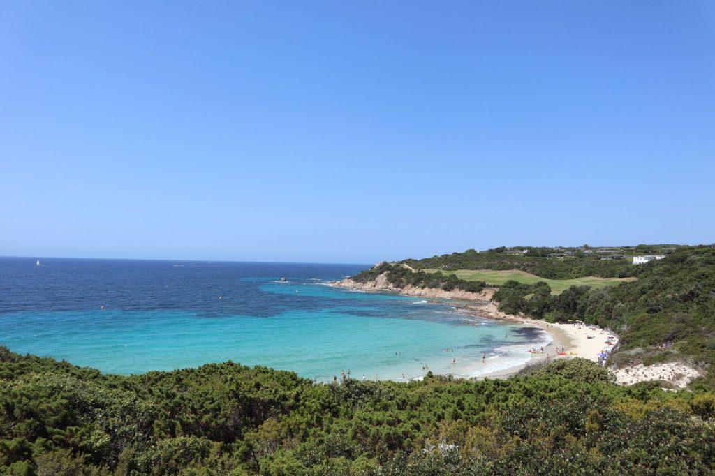 Corse - Bonifacio - Plage du grand sperone