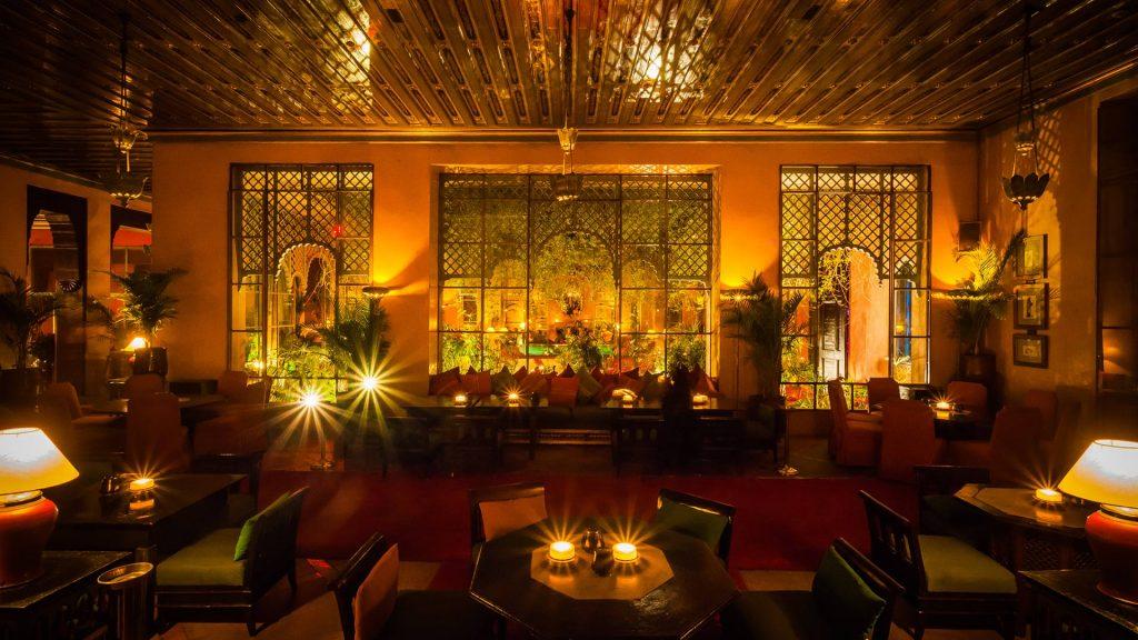 Maroc - Marrakech - Restaurant - Palais Jad Mahal
