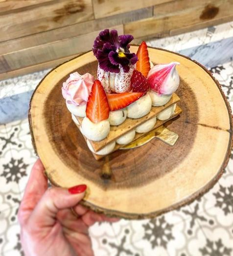 Restaurants Aix - BOTTEGA DA VERRI - Dessert fruits