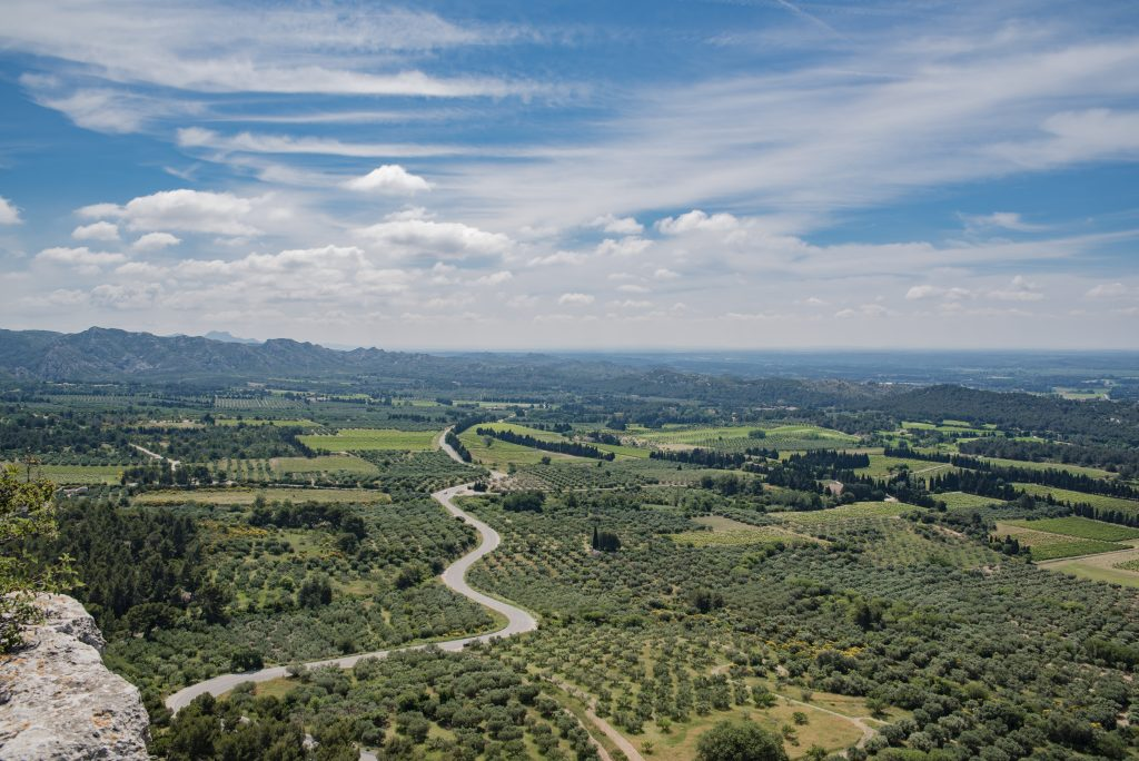 Baux de Provence - On the road