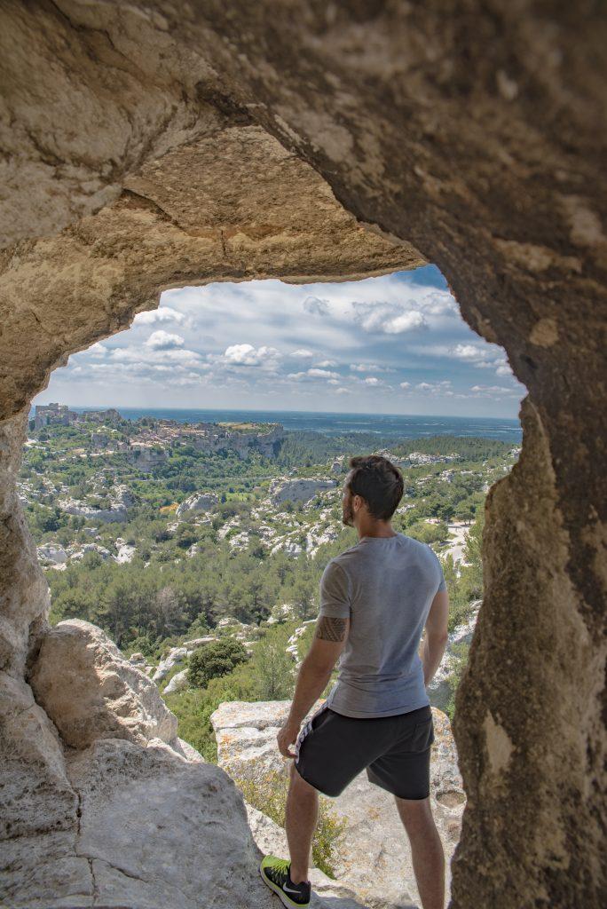 PACA - Baux de Provence - Vue sur le village