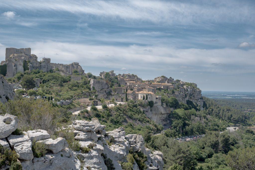 Baux de Provence - Vue village