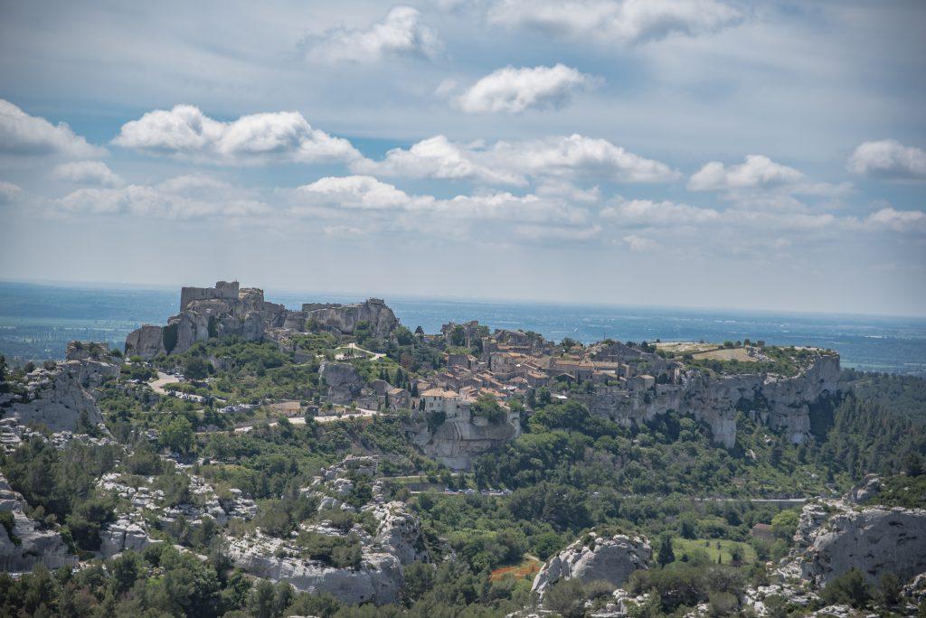 Baux de Provence - Domaine Mejan - Hotel - Vue village