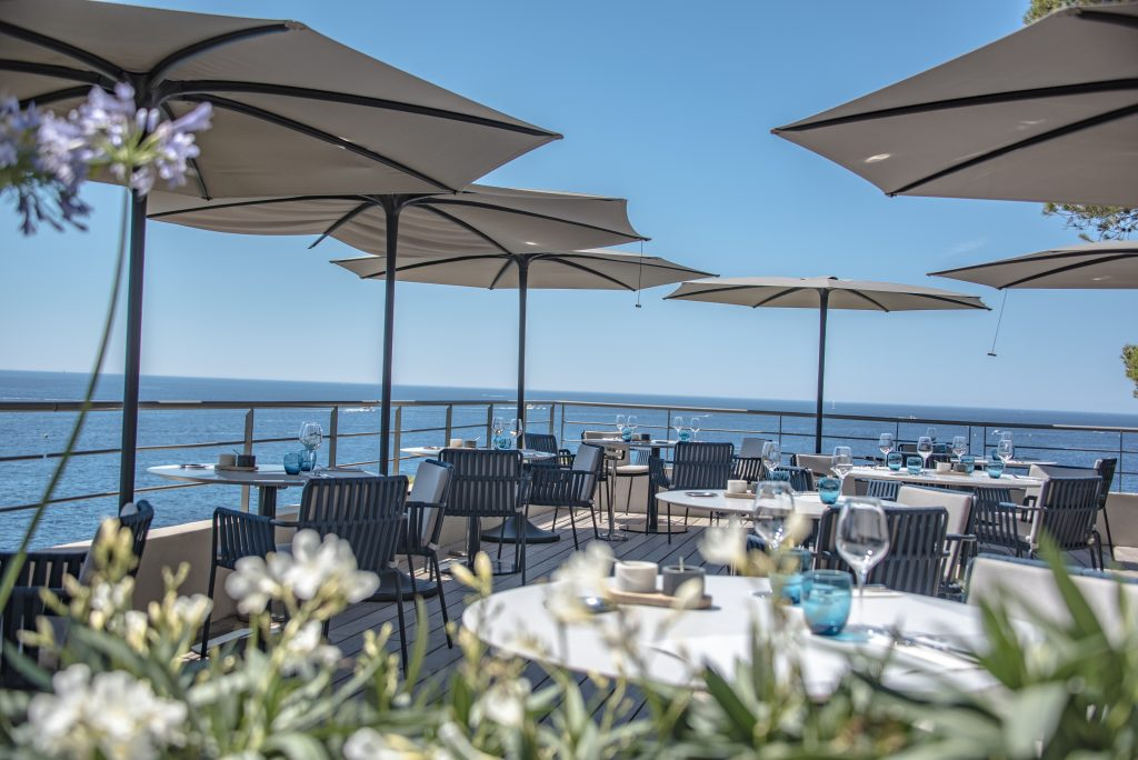 Cassis - Les Roches Blanches - Hotel - Terrasse