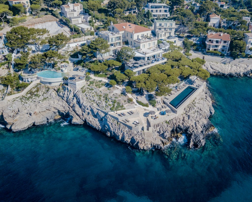 Cassis - Les Roches Blanches - Hotel - Vue drone