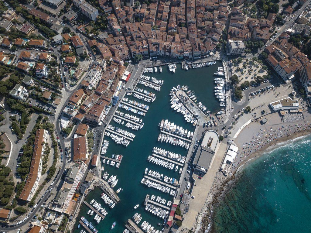 Cassis - Vue drone port