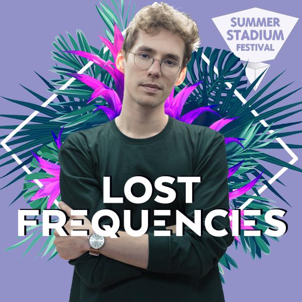 lost frequencies - dj - Summer Stadium Festival