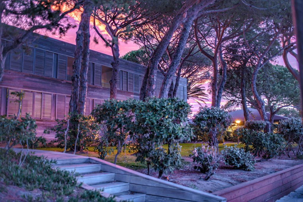 Hotel Moby Dick | Vue depuis Santa Giulia en sunset