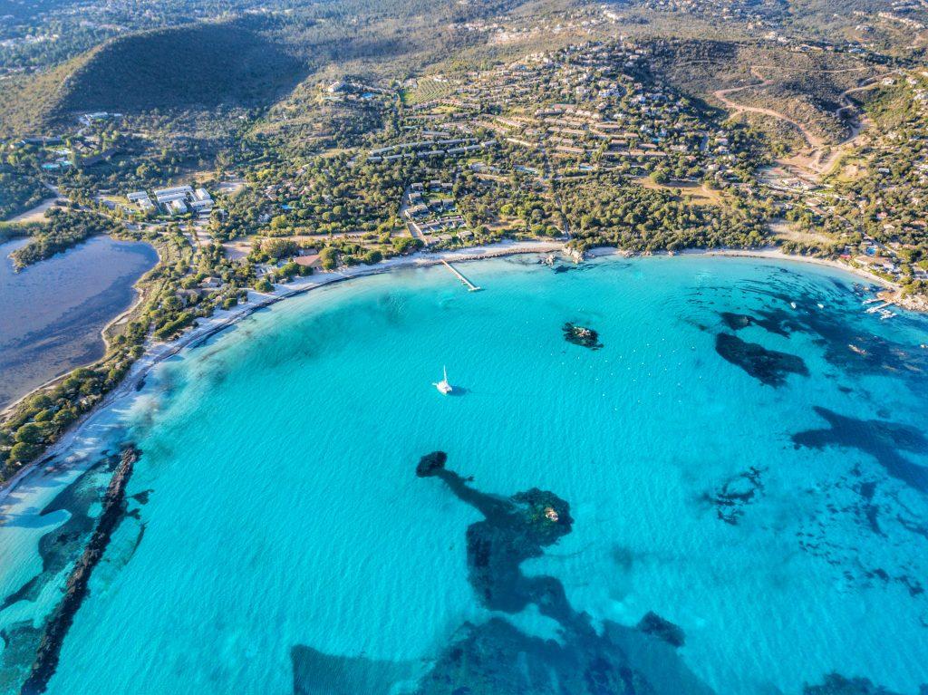Baie de Santa Giulia | Porto-Vecchio | Vue drone