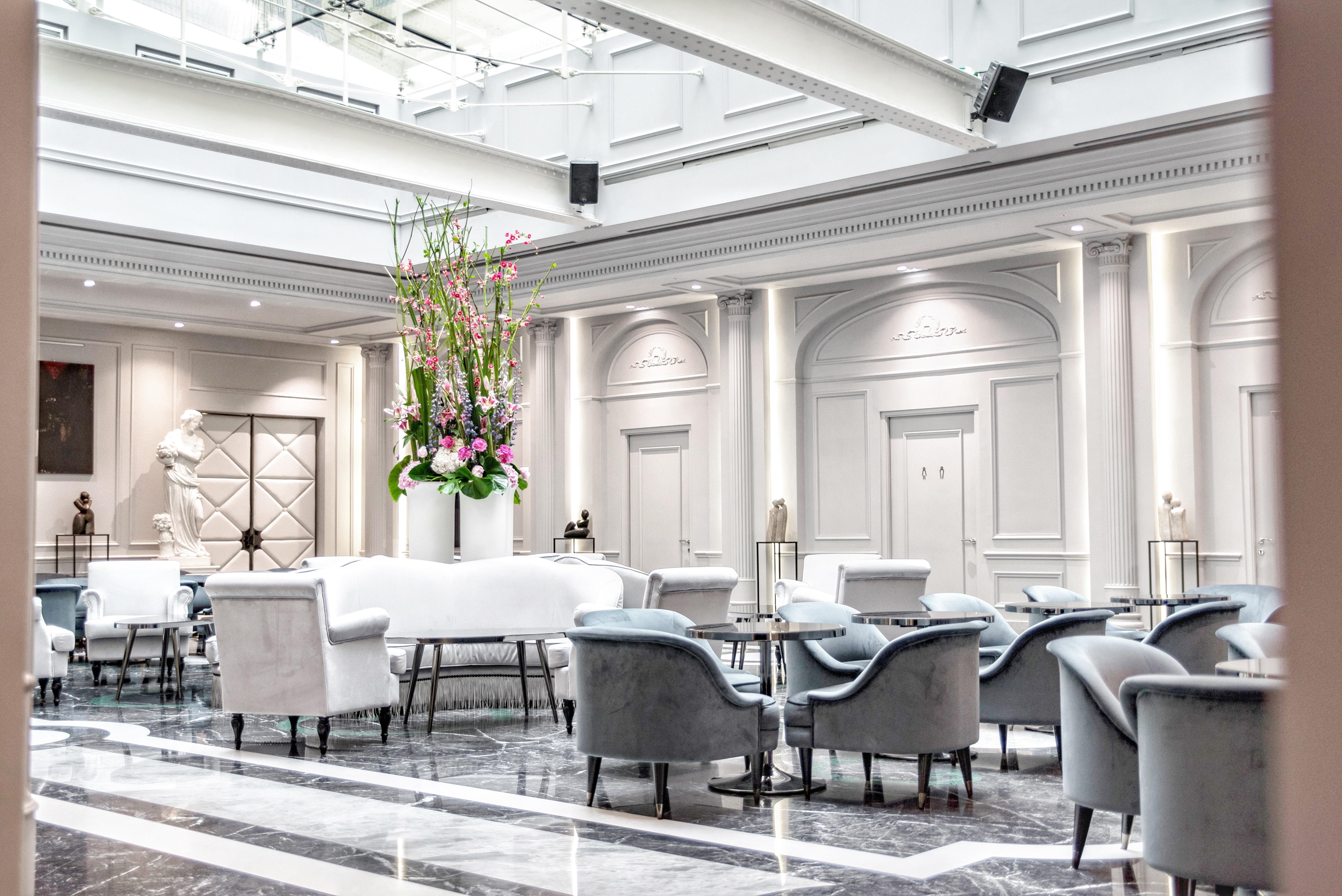 Grand salon   Bar Hôtel 5 étoiles Lyon