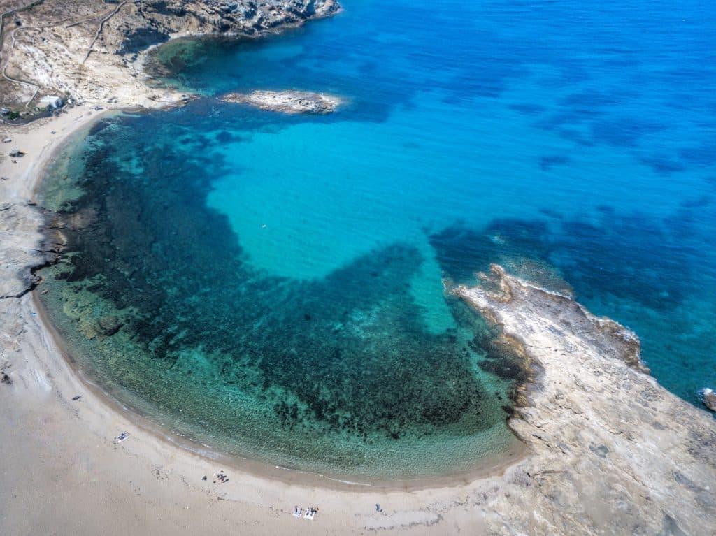 Grèce | Mykonos | Plages | Mersini Beach
