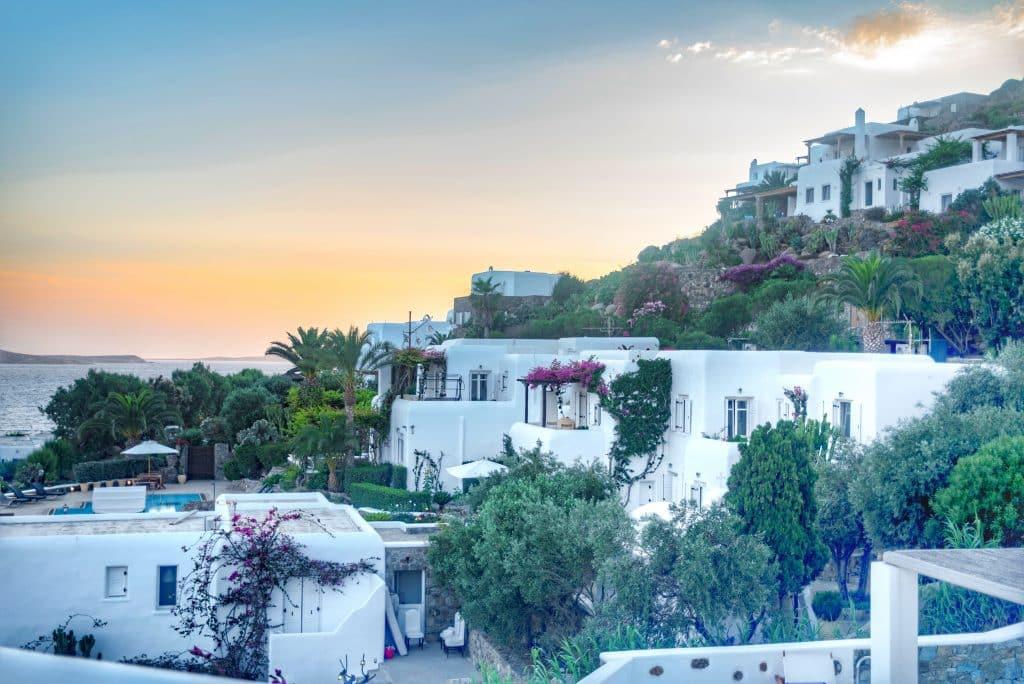 Katikies Hôtel Mykonos | Restaurant et pour le breakfast