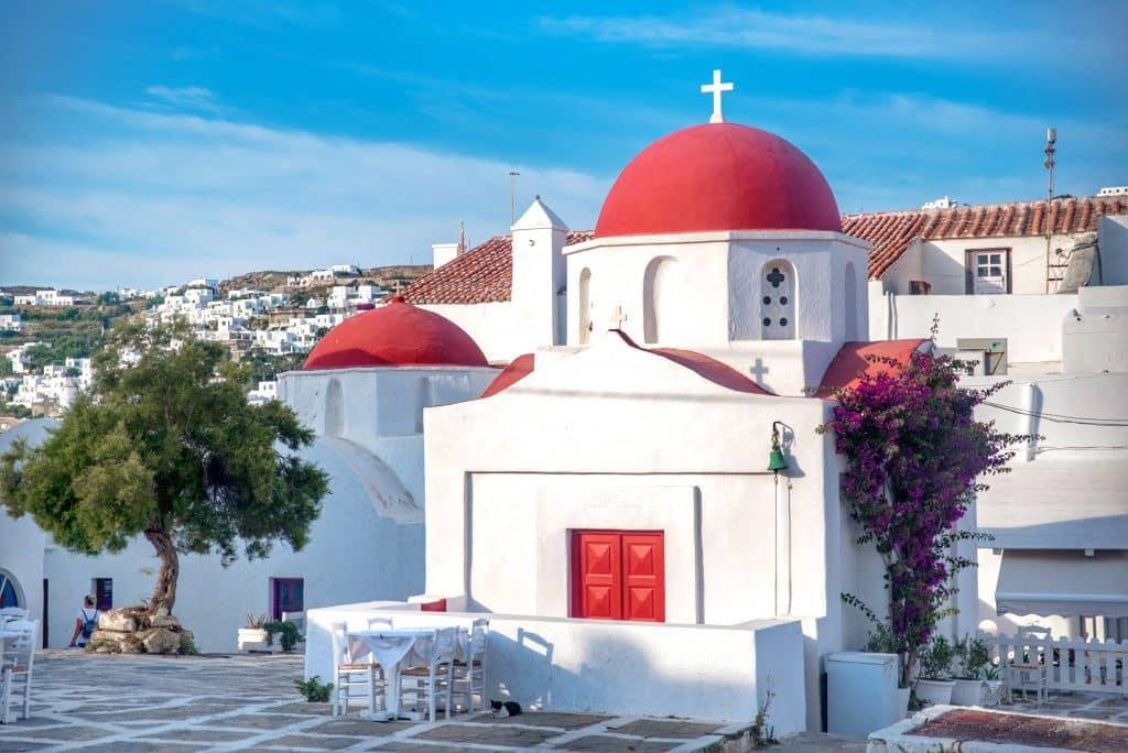 Grèce | Ville de Mykonos | Balade dans les rues