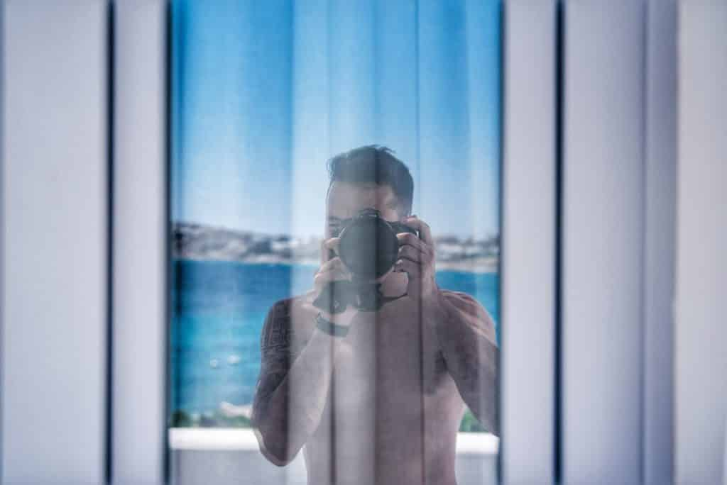Katikies Hôtel | Terrasse Suite avec piscine privée et vue mer