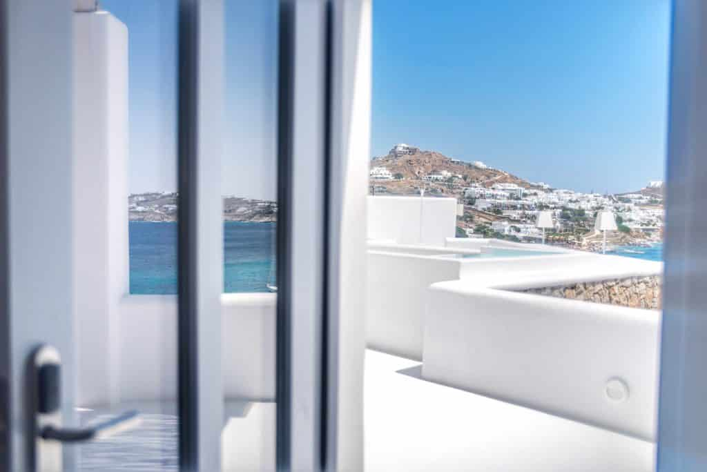 Katikies Hôtel | Vue fenêtre sur Terrasse