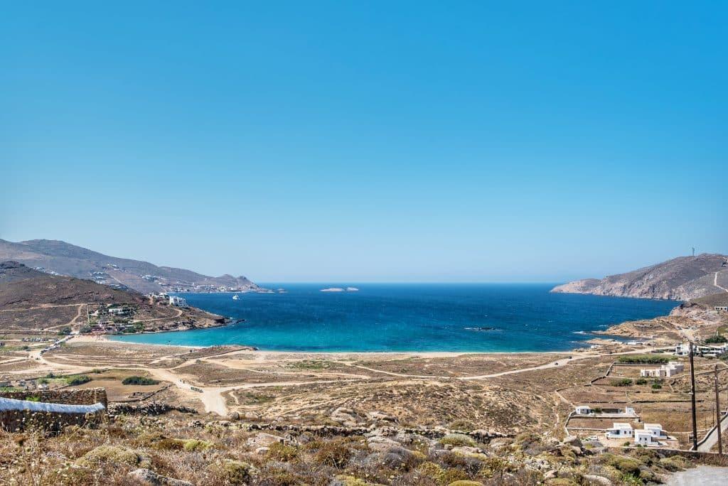 Grèce | Plage Mykonos | Ftelia Beach