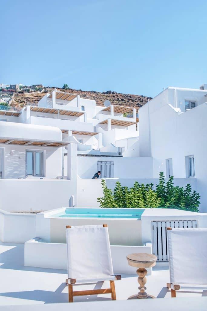 Katikies luxury Hôtel 5 stars