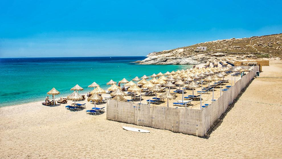 Plage Mykonos | Lia Beach